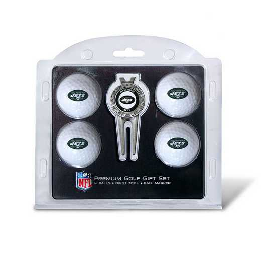 32006: 4 Golf Ball And Divot Tool Set New York Jets