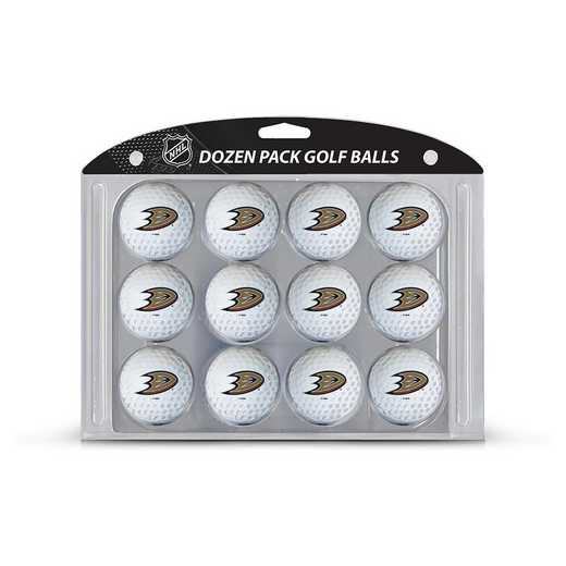 13003: Golf Balls, 12 Pack Anaheim Ducks
