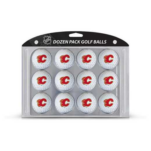 13303: Golf Balls, 12 Pack Calgary Flames