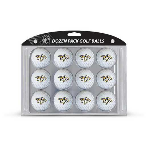 14503: Golf Balls, 12 Pack Nashville Predators