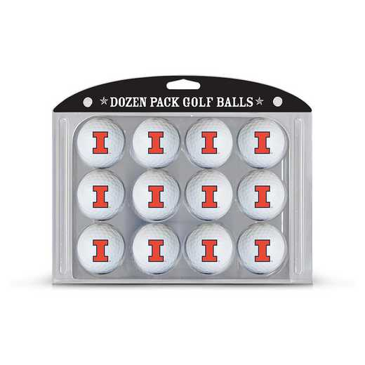 21303: Golf Balls, 12 Pack Illinois Fighting Illini