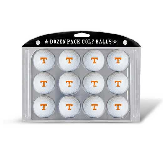 23203: Golf Balls, 12 Pack Tennessee Volunteers