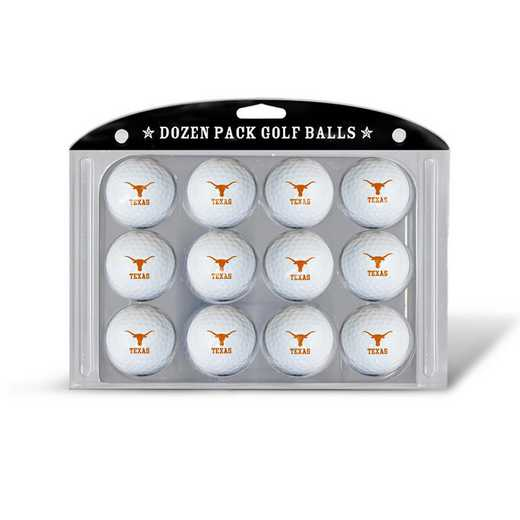23303: Golf Balls, 12 Pack Texas Longhorns