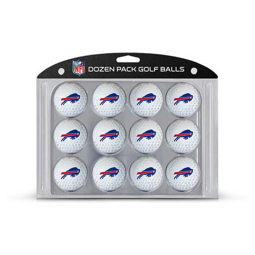 30303: Golf Balls, 12 Pack Buffalo Bills
