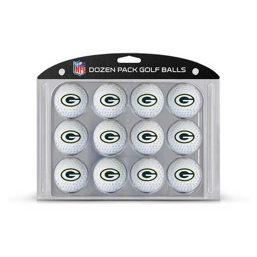 31003: Golf Balls, 12 Pack Green Bay Packers
