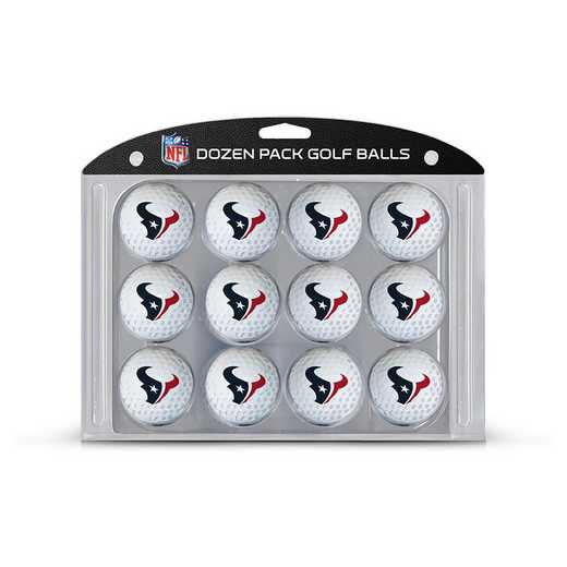 31103: Golf Balls, 12 Pack Houston Texans