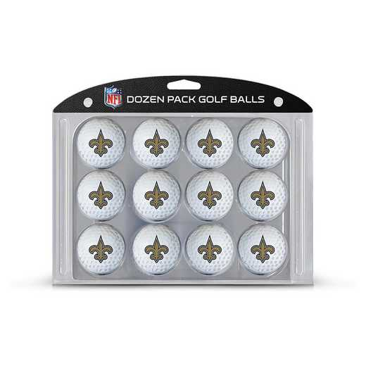 31803: Golf Balls, 12 Pack New Orleans Saints