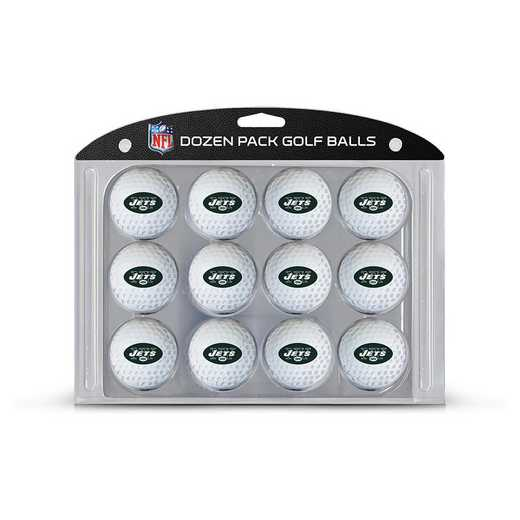 32003: Golf Balls, 12 Pack New York Jets