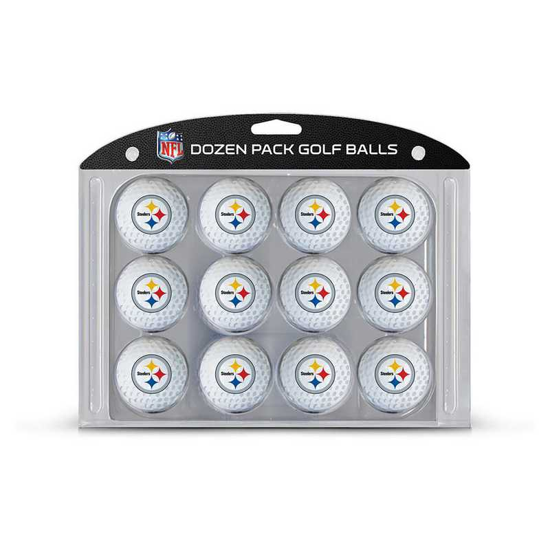 32403: Golf Balls, 12 Pack Pittsburgh Steelers