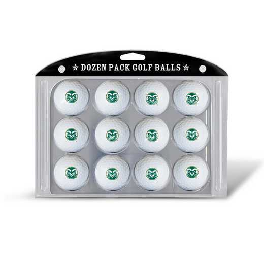 44903: Golf Balls, 12 Pack Colorado State Rams