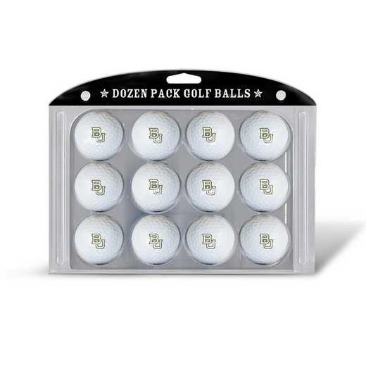 46903: Golf Balls, 12 Pack Baylor Bears