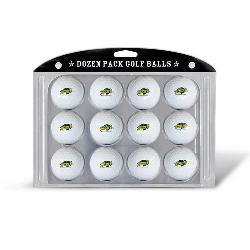 53703: Golf Balls, 12 Pack North Dakota St