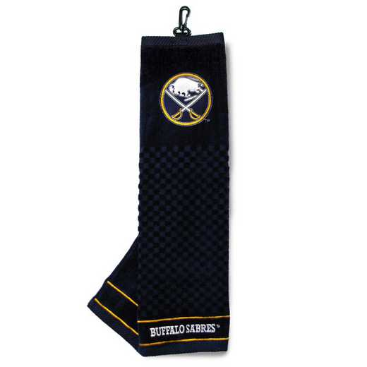 13210: Embroidered Golf Towel Buffalo Sabres