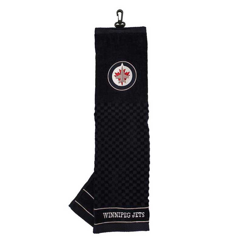 15910: Embroidered Golf Towel Winnipeg Jets