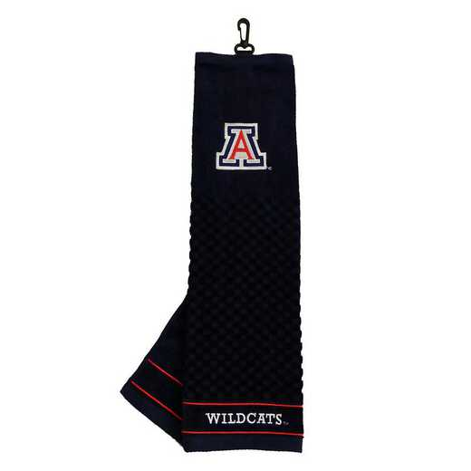 20210: Embroidered Golf Towel Arizona Wildcats