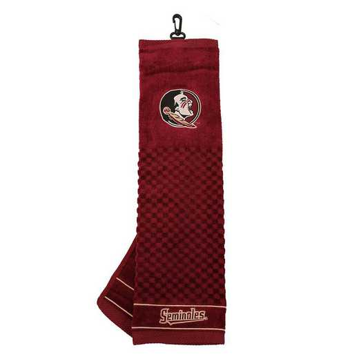 21010: Embroidered Golf Towel Florida State Seminoles