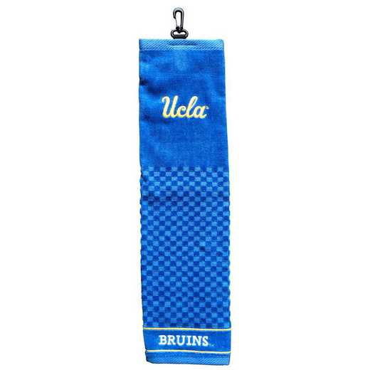 23510: Embroidered Golf Towel UCLA Bruins