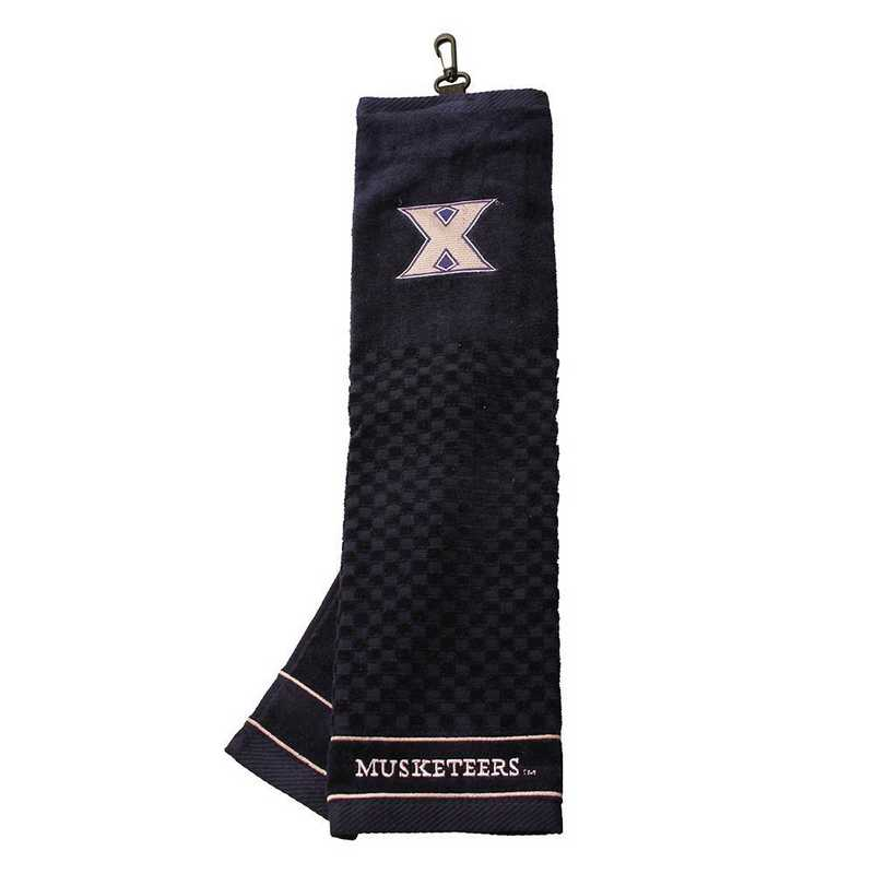 24110: Embroidered Golf Towel Xavier