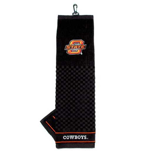 24510: Embroidered Golf Towel Oklahoma State Cowboys