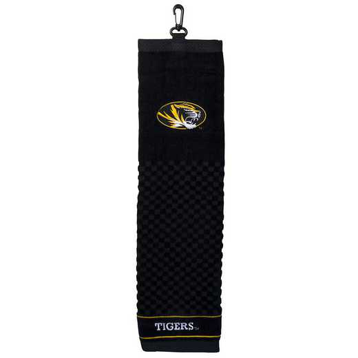 24910: Embroidered Golf Towel Missouri Tigers
