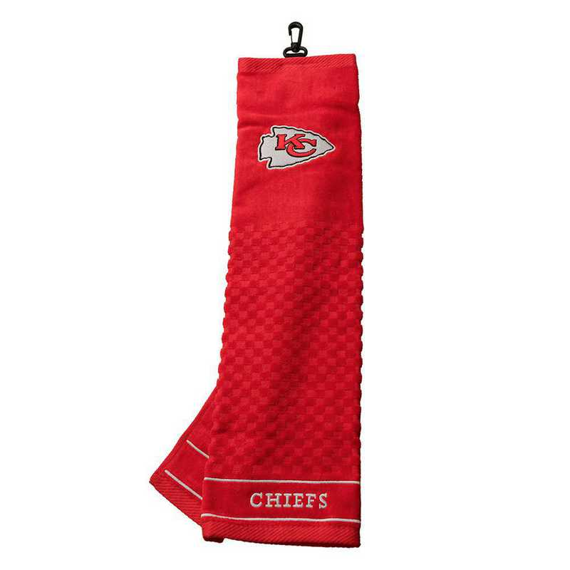 31410: Embroidered Golf Towel Kansas City Chiefs
