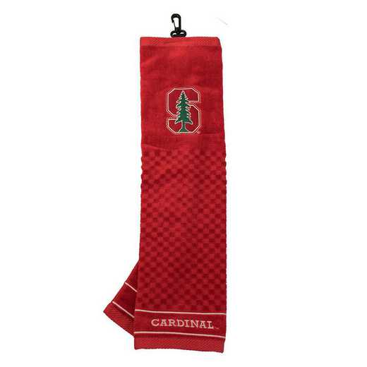 42010: Embroidered Golf Towel Stanford Cardinal