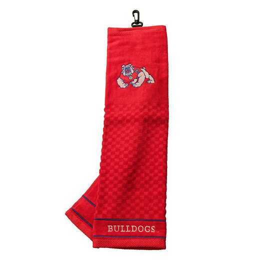 44110: Embroidered Golf Towel Fresno St
