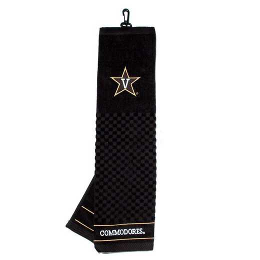 46610: Embroidered Golf Towel Vanderbilt