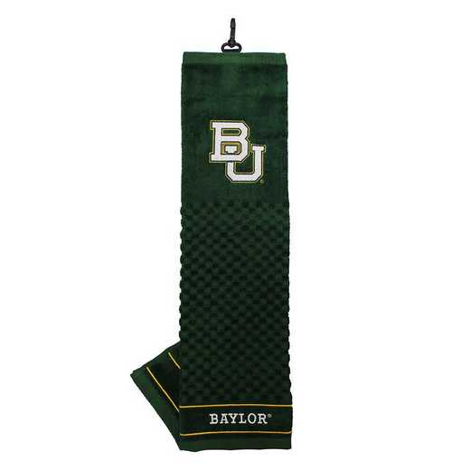46910: Embroidered Golf Towel Baylor Bears
