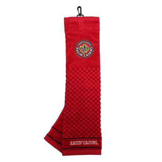 60710: Embroidered Golf Towel Louisiana - Lafayette