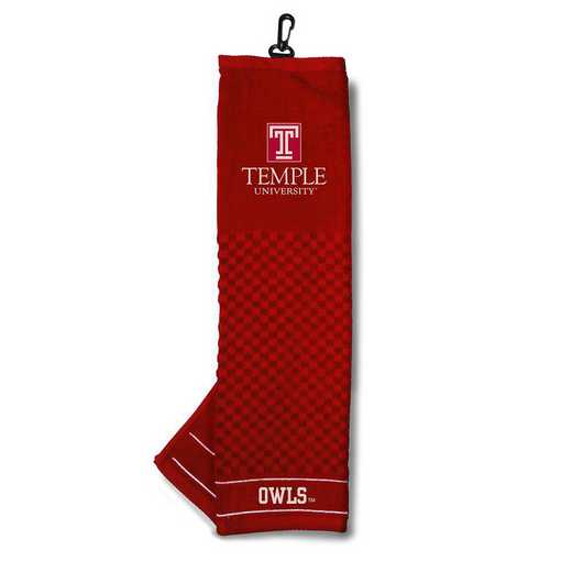 61510: Embroidered Golf Towel Temple