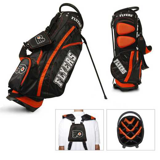 15028: Fairway Golf Stand Bag Philadelphia Flyers