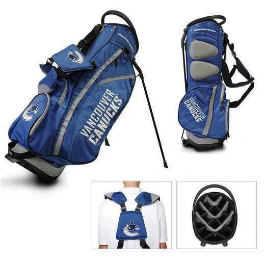 15728: Fairway Golf Stand Bag Vancouver Canucks