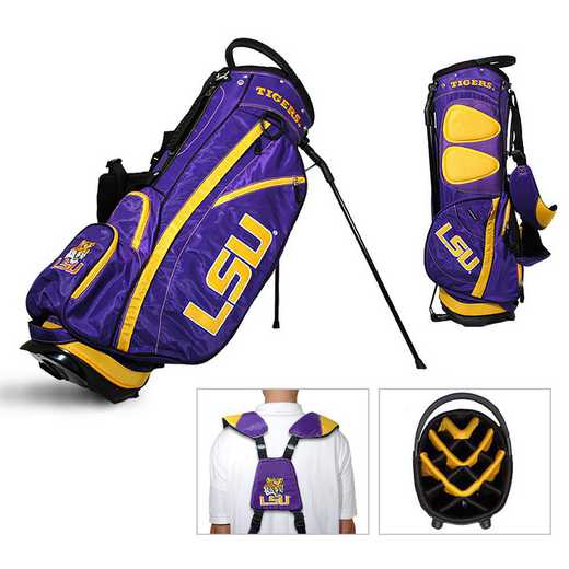 22028: Fairway Golf Stand Bag LSU Tigers