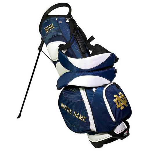 22728: Fairway Golf Stand Bag Notre Dame Fighting Irish