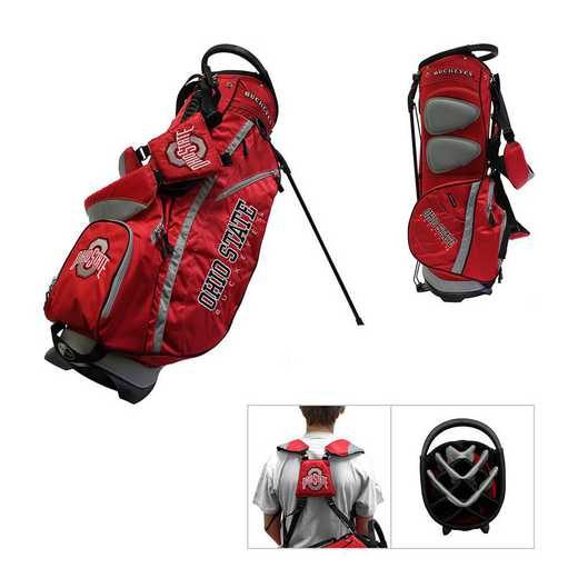 22828: Fairway Golf Stand Bag Ohio State Buckeyes