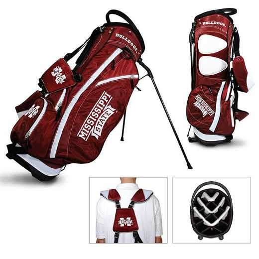 24828: Fairway Golf Stand Bag Mississippi State Bulldogs