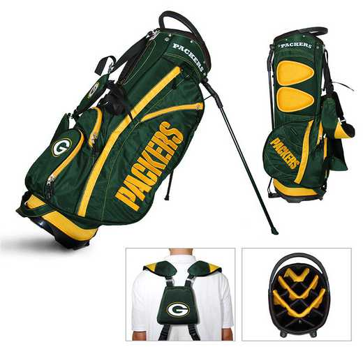 31028: Fairway Golf Stand Bag Green Bay Packers