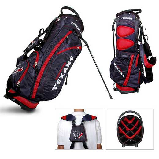 31128: Fairway Golf Stand Bag Houston Texans