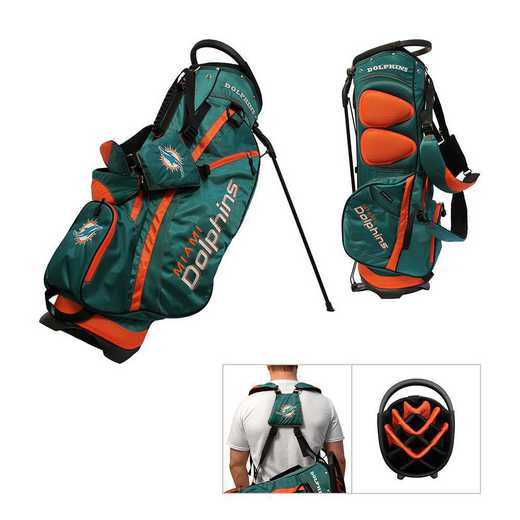 31528: Fairway Golf Stand Bag Miami Dolphins