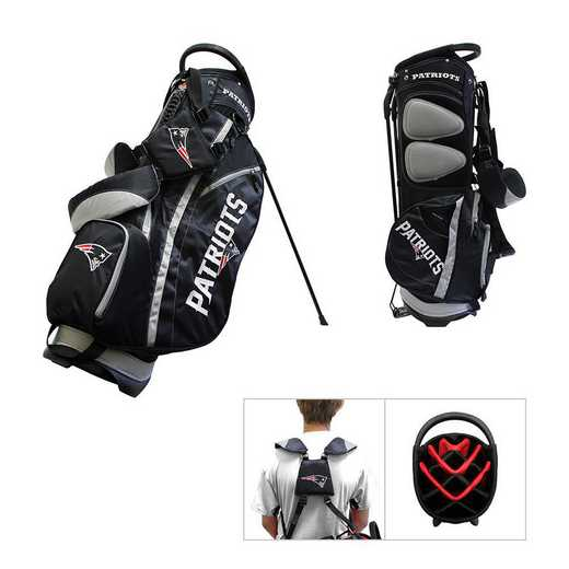 31728: Fairway Golf Stand Bag New England Patriots