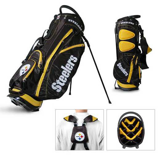 32428: Fairway Golf Stand Bag Pittsburgh Steelers