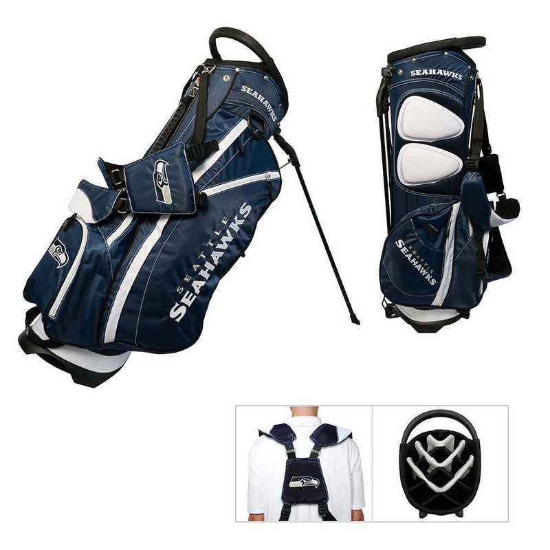 32828: Fairway Golf Stand Bag Seattle Seahawks