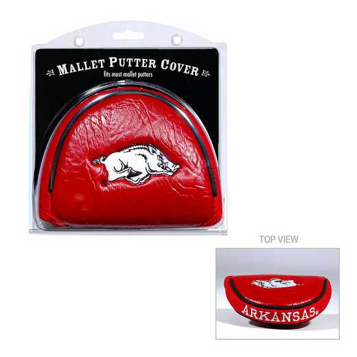 20431: Golf Mallet Putter Cover Arkansas Razorbacks