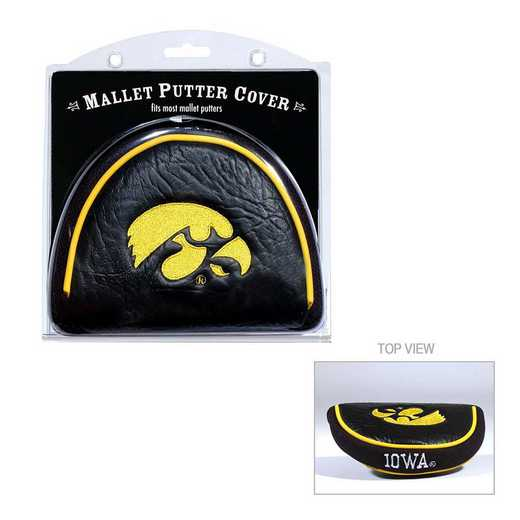 21531: Golf Mallet Putter Cover Iowa Hawkeyes
