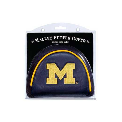 22231: Golf Mallet Putter Cover Michigan Wolverines