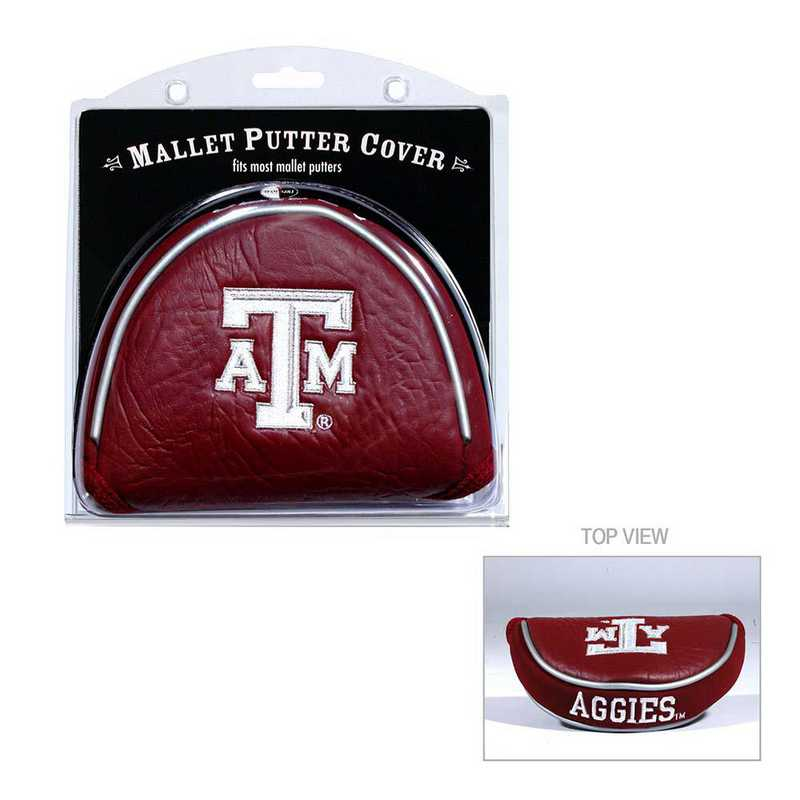 23431: Golf Mallet Putter Cover Texas A&M Aggies