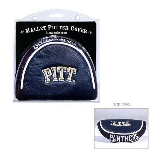 23731: Golf Mallet Putter Cover Pitt Panthers