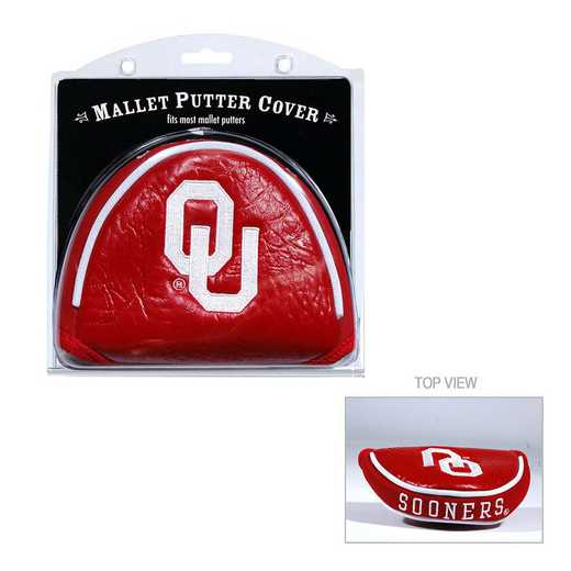 24431: Golf Mallet Putter Cover Oklahoma Sooners