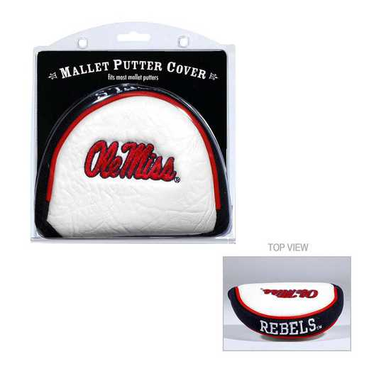 24731: Golf Mallet Putter Cover Ole Miss Rebels